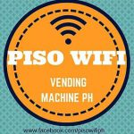 PISO WIFI VENDING MACHINE.