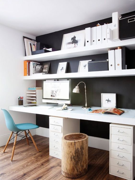 Office Ideas For The Small Office Or Home Office.