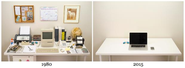 'Evolution Of The Desk'