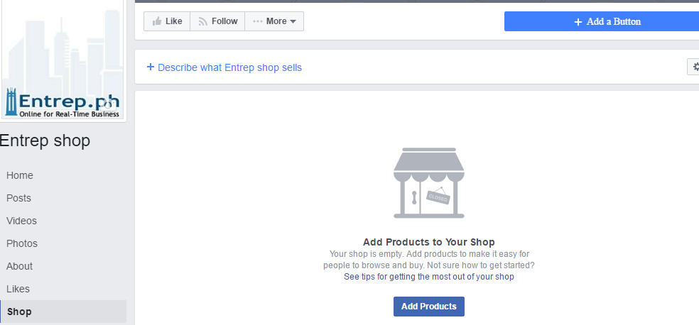 You May Now Add Products.. Yehey!