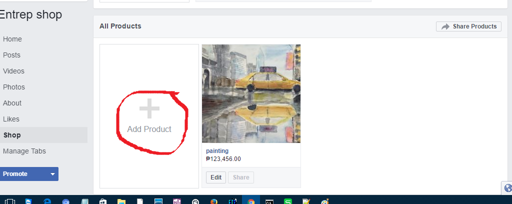 """To Add Another Product Just Click On """"Add Product"""""""