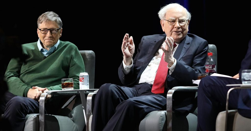 Warren Buffett Once Bought Bill Gates Lunch At McDonald's With Coupons